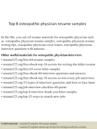 physician assistant resume examples new grad top8osteopathicphysicianresumesamples 150602135944 lva1 app6891 thumbnail 4 jpg cb 1433253638