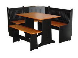 corner kitchen table with bench set u2014 desjar interior design the