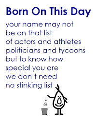 born on this day birthday poem free ecards greeting