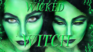 halloween witches makeup ideas wicked witch makeup tutorial youtube