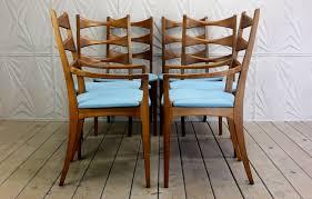Lane Dining Room Furniture by Lane Rhythm Set Of 6 Cat Eye Dining Chairs Mid Century Modern