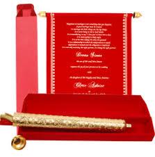 Muslim Wedding Invitation Cards Manufacturer Of Envelope In Itenary U0026 Scroll Wedding Cards By Card
