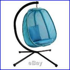 hanging hammock chair egg stand yard indoor outdoor patio swing