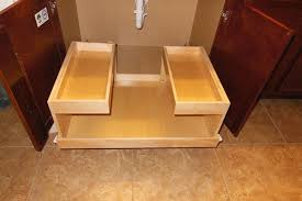 Wood Pull Outs For Kitchen Cabinets Bar Cabinet - Slide out kitchen cabinets