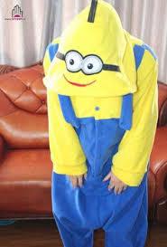 Cheap Halloween Costumes Pajamas Minions Free Shipping Despicable Minions Pajamas Unisex Romper