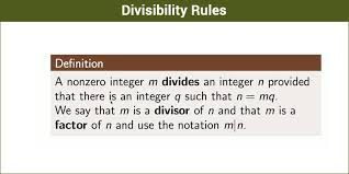 divisibility rules for 2 3 4 5 6 7 8 9 10 11 along with examples