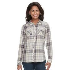 womens button down shirts shirts u0026 blouses tops clothing kohl u0027s