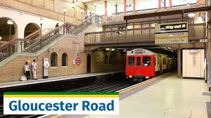 Gloucester Lu Beautiful Gloucester Road Station Feat D Stock Youtube