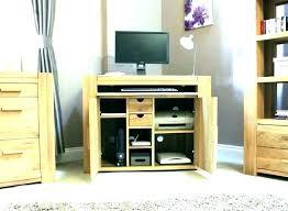 bureau pour pc fixe meuble pour pc de bureau salv co