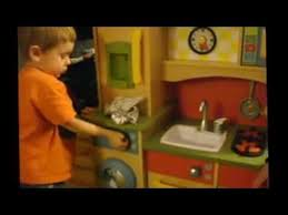 Little Tikes Wooden Kitchen by Little Tikes Kitchen Review By The Snowtiger Kids Youtube