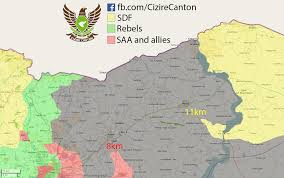 Syria Fighting Map by January 17 2016 North Syria Map Update Syriancivilwar