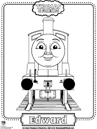 thomas friends coloring pages edward coloringstar