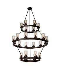 artcraft ac10004 menlo park 46 inch wide 24 light chandelier
