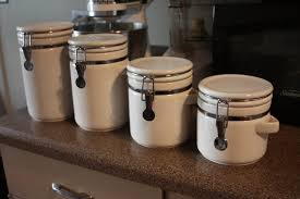 kitchen stunning kitchen canister sets for home canisters for