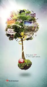 creative tree flyer design kerimade