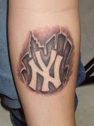 yankees logo tattoo