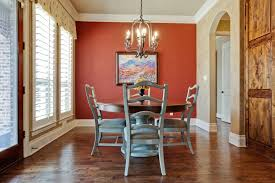 Cute Dining Room A Red Accent Wall And Aqua Dining Room Accent - Dining room accent wall