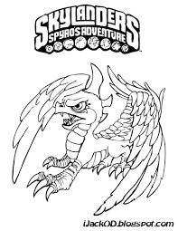 t i y skylanders colouring pages