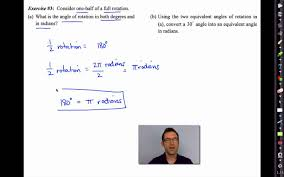 common core algebra ii unit 11 lesson 2 radian angle measurement