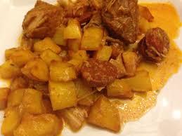 cuisiner portugais sauté de porc portugaise sevencuisine