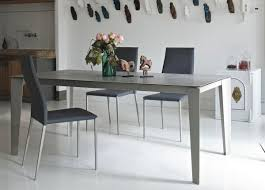 bontempi casa cruz extending dining table modern extending