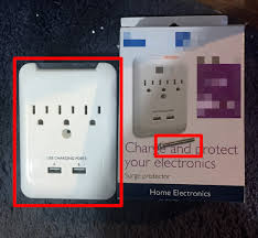 how to install an outlet u2010mounted surge protector or usb extender box