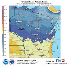 Weather Map Wisconsin by Storm Sunday Night Into Monday Night Expected To Bring 6 To 8