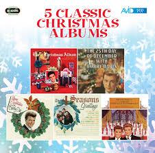 christmas cds 5 classic christmas albums elvis bobby darin bobby vee