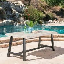 Rectangle Patio Table Rectangle Outdoor Dining Tables For Less Overstock