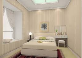 bedroom tiny bedroom decoration with stripes wall and cool