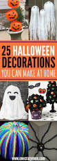 how to make easy halloween decorations at home diy halloween decoration ideas 25 budget friendly ideas