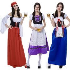 Bar Maid Halloween Costume Maid Costume Barmaid Long Skirt Roleplay Lingerie Halloween