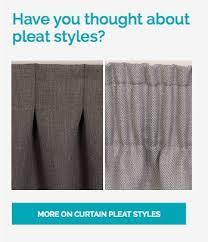 Different Drapery Pleat Styles Curtain Pleat Styles Nz Memsaheb Net