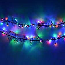 bright led outdoor christmas lights multi colour 960 led cluster christmas lights amazon co uk kitchen