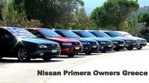 nissan primera owners greece 1st meeting xylokastro youtube