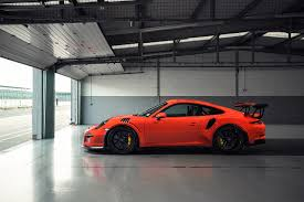 Porsche 911 Orange - wallpaper porsche 911 gt3 orange auto side