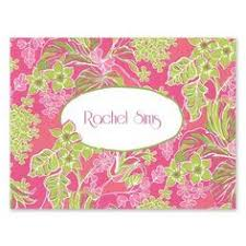 lilly pulitzer correspondence cards lucky charms lilly
