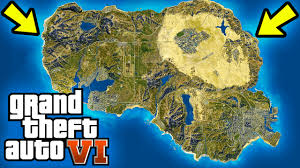 Usa World Map by Gta 6 World Map Concept Usa Map Location New Regions U0026 More