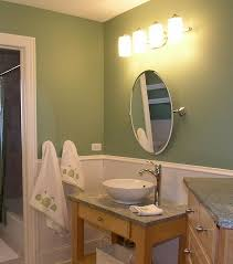 Light Green Bathroom Accessories Mounted Wall Adjustable Chrome Round Bathroom Mirror With Lights