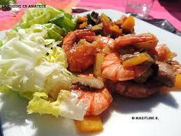 recette cuisine wok recette de légumes et crevettes au wok