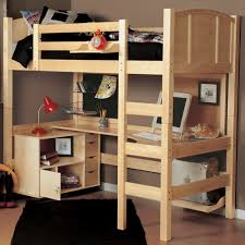 Bunk Bed Desk Underneath Size Loft Beds With Desk Underneath Design