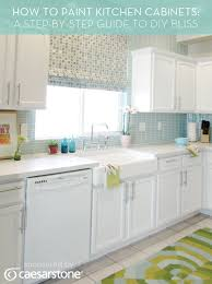 one coat kitchen cabinet paint how to paint kitchen cabinets a step by step guide to diy bliss