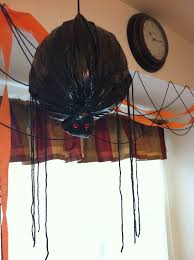 giant spider decorations for halloween homemade halloween how to easypeasyliving