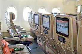 Airbus A 380 Interior Emirates Airbus A380 Aircraft Interior U2013 Stock Editorial Photo