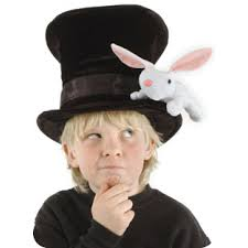 halloween costumes for bunny rabbits magicians hat with rabbit and secret pocket for kids