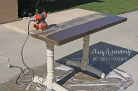 refinish a table stacy risenmay