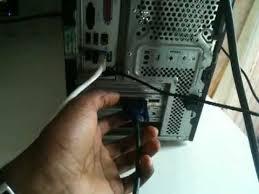 connecter un pc de bureau en wifi brancher pc sur sa télévision relier un ordinateur à une
