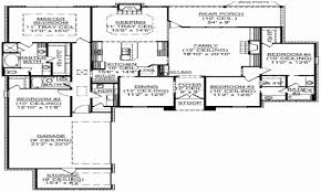 one story house floor plans one story 4 bedroom house floor plans luxury floor plans single