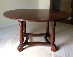 ebay ethan allen dining table ethan allen british classics 56 round dining table w 20 leaf