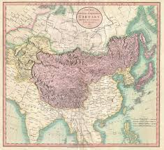 Russia And Central Asia Map by File 1806 Cary Map Of Tartary Or Central Asia Geographicus
